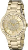GUESS GUESS? Women's U0637L2 Classic -Tone Watch