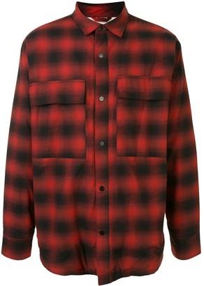 Fear Of God Plaid Shirt Jacket