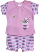 Schnizler Girl's Clothing Set - Pink - 6-9 Months