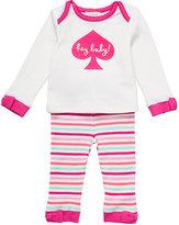 Kate Spade Layette hey baby loungewear set