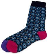 Ted Baker Ringcuf Snowflake Socks