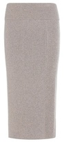 Calvin Klein Collection Crystal Cashmere Midi Skirt