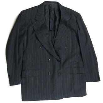 Kiton Black Cotton Jackets