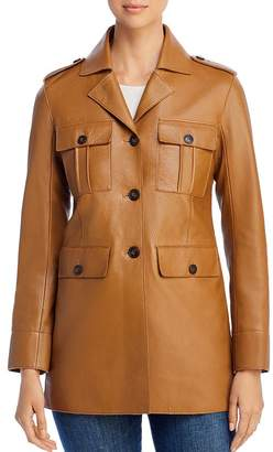 Tory Burch Sgt. Pepper Leather Jacket