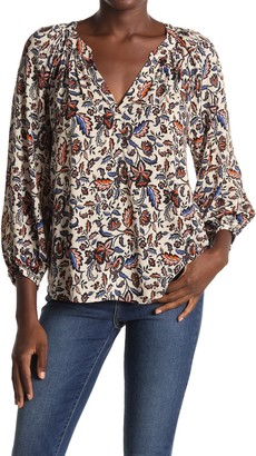 Velvet by Graham & Spencer Briana Printed Top