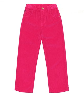 Versace Kids Corduroy straight pants