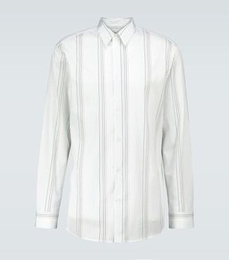 Gabriela Hearst Quevedo striped shirt