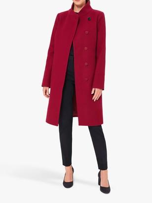Hobbs Maisie Funnel Neck Wool Coat