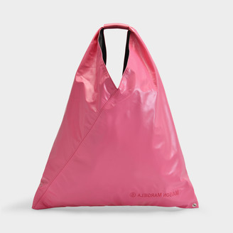MM6 MAISON MARGIELA Japanese Tote In Pink Synthetic Leather