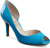 Shoes, Joey Peep Toe Pumps