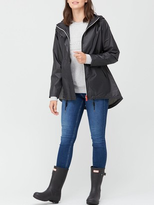 Hunter Original Vinyl Smock Jacket - Black