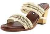 Matt Bernson Ceylon Open Toe Synthetic Slides Sandal.