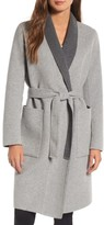 Soia & Kyo Women's Double Face Wool Blend Long Wrap Coat