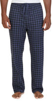 Nautica Lightweight Sueded Knit Checked Sleep Pants
