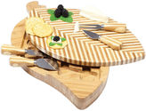 Picnic Time Leaf Cheeseboard and Tools Set