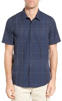 Travis Mathew Men's Bolin Plaid Sport Shirt