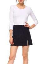 Tcec Navy Mini Skirt