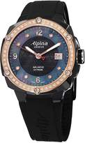 Alpina Women's AL240MPBD3FBAED Avalanche Extreme Analog Display Swiss Quartz Black Watch