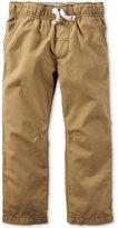 Carter's Toddler Boys' Khaki Pull-On Pants