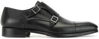 Magnanni Low Heel Monk Shoes