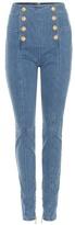 Balmain Embellished Skinny Jeans