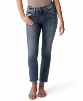 Thumbnail for your product : Silver Jeans Co. Avery High-Rise Straight-Leg Jeans