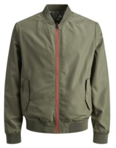 Jack and Jones Men's Reversible Bomber Jacket