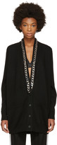 Givenchy Black Cashmere Chain Cardigan
