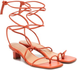 LOQ Roma leather sandals