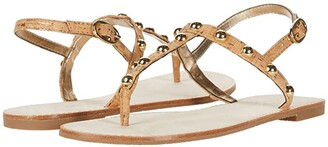 Lilly Pulitzer Rita Sandal (Gold Metallic 2) Women's Dress Sandals