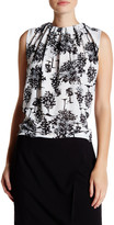 Joe Fresh Pleated Crew Neck Tank