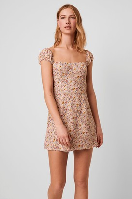 French Connenction Delmira Verona Smock Mini Dress