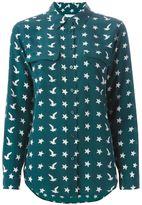 Equipment bird and star print shirt