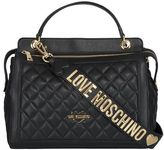 Moschino Quilted Bowling Bag