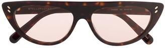 Stella McCartney Cat Eye Frame Sunglasses