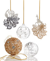 Holiday Lane Crystal Elegance Ornament Collection, Created for Macy's
