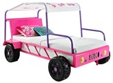 Powell Company Kids Bed Metal/Pink/White