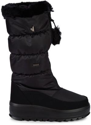 Pajar Toboggan Faux Fur Quilted Snow Boots