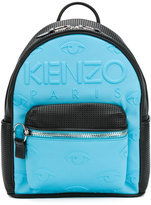 Kenzo embossed eye backpack