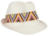 Pate De Sable White Hippie Evita Hat