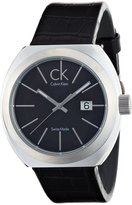 Calvin Klein Men's 42mm Leather Band Steel Case Quartz Watch Kor21107
