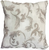 "Homewear Nisha Floral-Scroll 20"" Square Decorative Pillow"