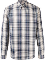 A.P.C. plaid shirt - men - Cotton - XS