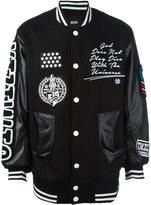 Kokon To Zai embroidered bomber jacket - men - Polyester/Viscose/Wool - XS