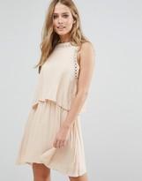 Vila Double Layered Sleeveless Dress
