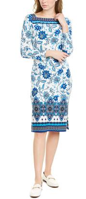 Eliza J Square Neck Shift Dress
