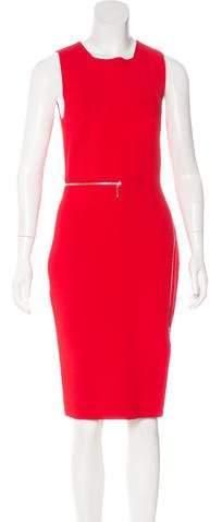Alexander Wang Zip-Accented Sleeveless Dress