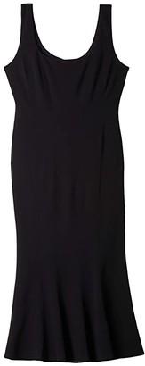 Maggy London Square Neck Mermaid Dress (Black) Women's Clothing