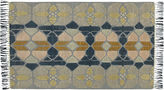 CB2 Hand-Knotted Stained Glass Rug 5'x8'