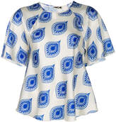 Hache printed blouse